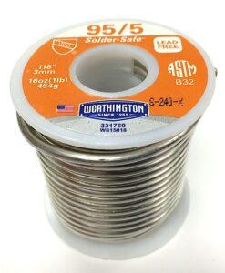 1 lb spool 95 5 solder