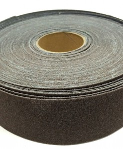 25 yd x 1 1:2 wide abrasive cloth