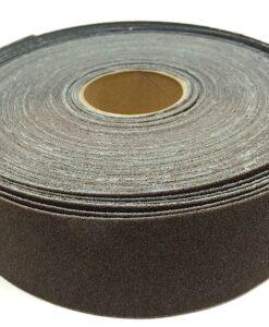 25 yd x 1 1:2 wide abrasive cloth