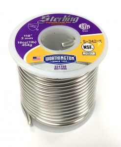 Lead free 1 lb spool lead free solder