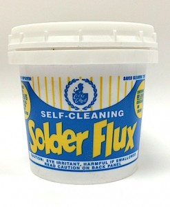 Self Cleaning Solder Flux