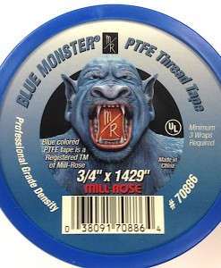 "Blue Monster ¾"" X 1429"" PTFE Tape #70886"