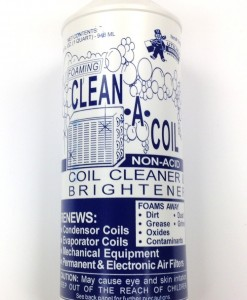 Utility 'Clean A Coil' Coil Cleaner #10-6510 1 Quart/Case Qty. 12