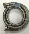 Braided Stainless Steel 5' Washing Machine Hose Cat. No. 726H005