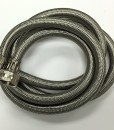 Braided Stainless Steel 6' Washing Machine Hose Cat. No. 726H006