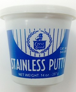 Crest/Good Big Ben Stainless Putty 14 oz. Cat. No. 845-001