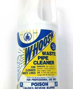 Crest/Good Whoosh Sulfuric Waste Pipe Cleaner 1 Quart/Sold in case quantities of 12 only.