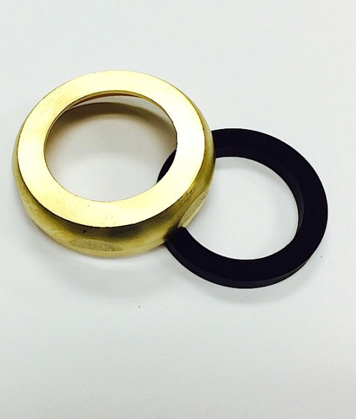 1 ½ X 1 ¼  Heavy Brass Reducing Slip Nut With Washer