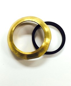 1 ¼ Heavy Brass Slip Nut With Washer