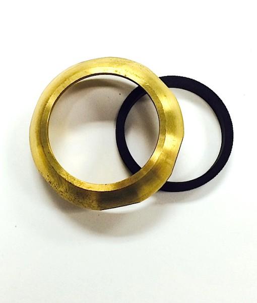 1 ¼ Heavy Brass Slip Nut With Washer