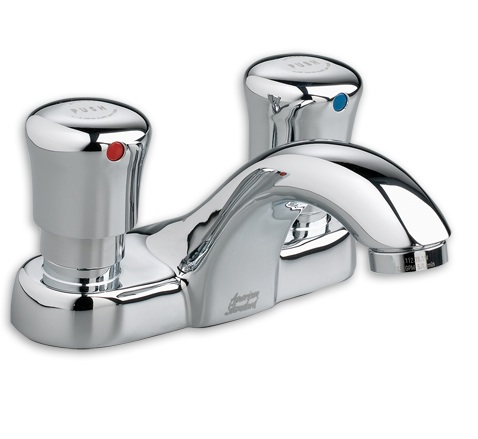 American Standard 1 0 Gpm 4 Quot Centerset Metering Faucet