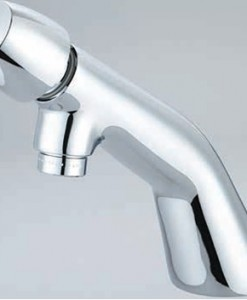 Central Brass 0356-AN2P Single Handle Plain Slow-Close Basin Faucet Cat. No. 949I205