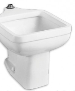 American Standard Floor Mounted Clinic Service Sink 9504.999.020 Cat No. 9AS9504
