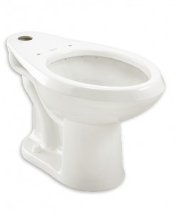 American Standard 3043.001.020 ADA Floormount Toilet Cat. No. 9AS6043