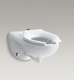 Kohler Kingston K-4325-L Wall Mount Toilet and Bedpan Lugs Cat. No. 9KO4331