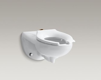 Kohler Kingston K-4325-L Wall Mount Toilet and Bedpan Lugs Cat. No. 9KO4331