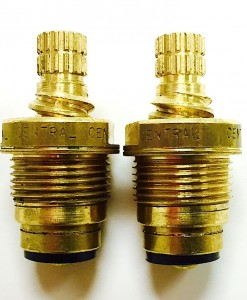 Crest/Good Gold-Pak for Central Brass Widespread Faucet Cat. No. CB10TG
