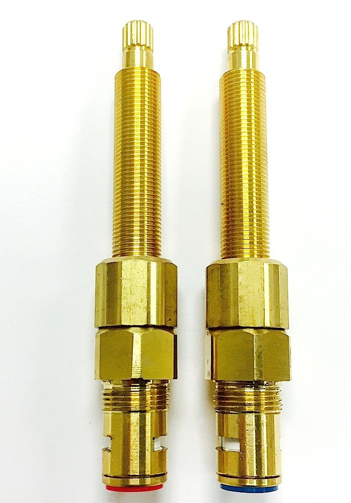 Crest/Good Gold-Pak for Central Brass Shower Valve Cat. No. CB36TG