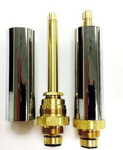 Crest/Good Gold-Pak for Eljer Shower Fixtures Cat. No. EJ31TG
