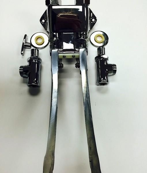 Chicago Faucet #834-EPABCP Extended Pedal Valve Cat. No. 9CF7834