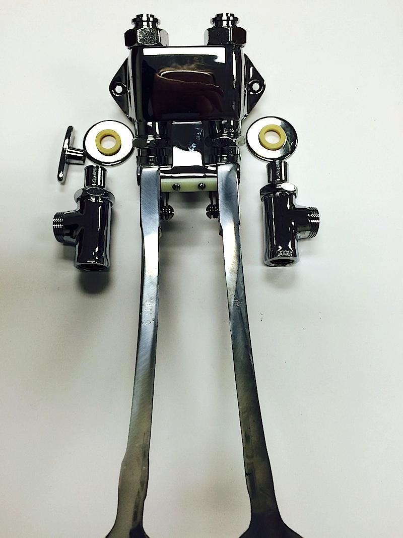 Chicago Faucet 834 Epabcp Extended Pedal Valve Cat No