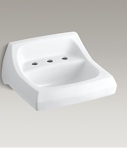 "Kohler Kingston K-2006-0 Sink 8"" Centers Cat. No. 9KO6333"