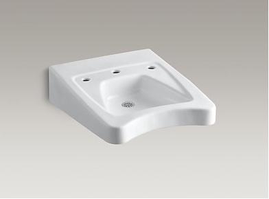 Kohler Morningside K-12634-0 Wheelchair Sink 11-1/2