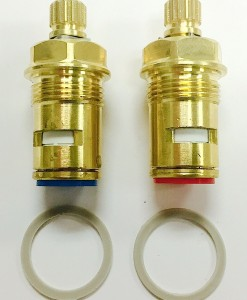 Crest/Good Gold-Pak for Central Brass Ceramic Stems Cat. No. CB17TG