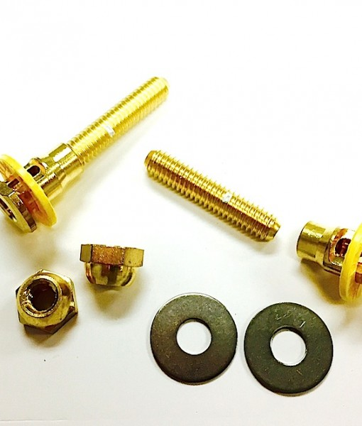 SetFast Self Adjusting Brass Floor Bolts #42443 Cat. No. BTA004