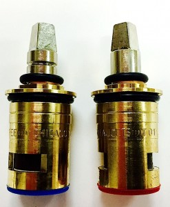 Crest/Good Gold-Pak for Chicago Faucet Short Ceramic Stems Cat. No. CF08TG