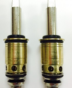 Crest/Good Gold-Pack for Chicago Faucet 377XT Stems Cat. No. CF11TG