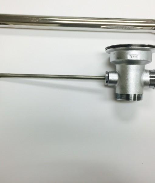 T/&S Brass B-3952-01 Waste Twist 3-1//2-Inch X 2-Inch W//Overflow