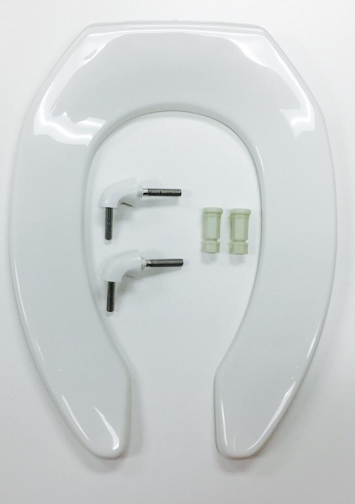 Bemis 1955ct 000 White Toilet Seat Cat No 856p005