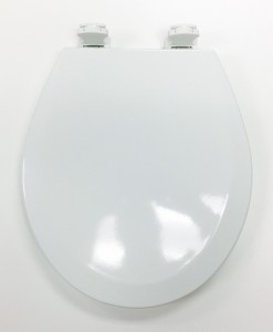 Bemis 500EC-000 White Round Toilet Seat Cat. No. 856P010