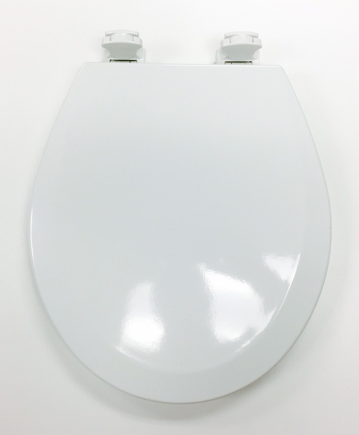 bemis 500ec000 white round toilet seat cat no 856p010