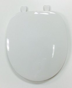 Centoco #200 White Round Toilet Seat Cat. No. 856P041