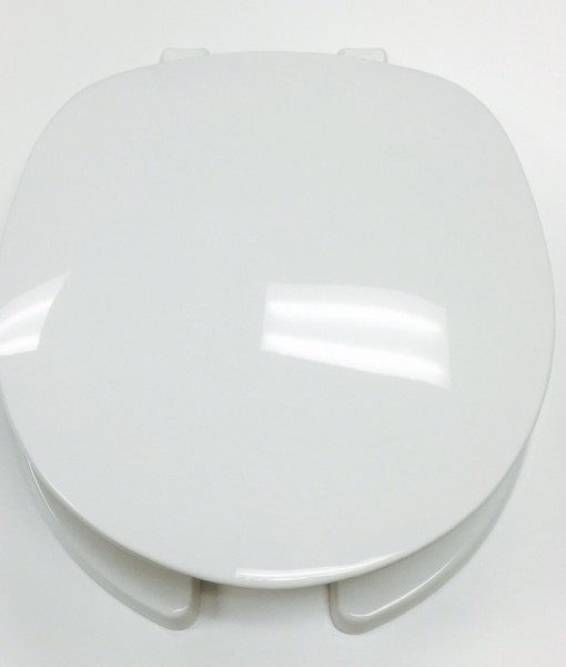 Centoco #220 White O/F Toilet Seat with Cover Cat. No. 856P047