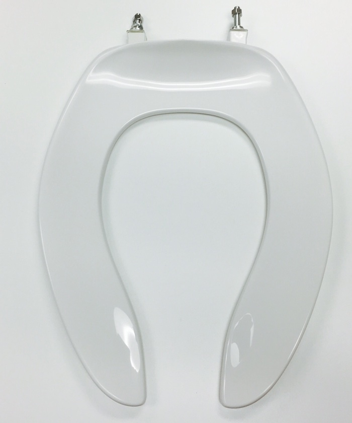 centoco 500stsccss white open front toilet seat cat no 856p048