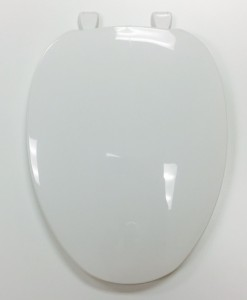 Centoco #600 White Elong. Toilet Seat Cat. No. 856P045