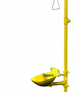 Bradley Halo S19314EW Combination Drench Shower and Eyewash Fixture Cat.No. 9BL6004