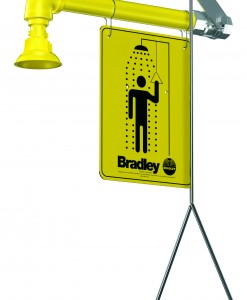 Bradley Horizontal Supply Shower S19-120 Cat. No. 9BL6000