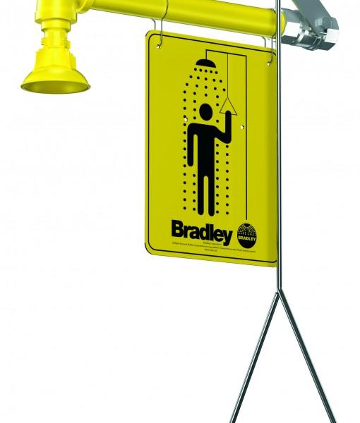 Bradley Horizontal Supply Shower S19-120 Cat. No. 9BL6000