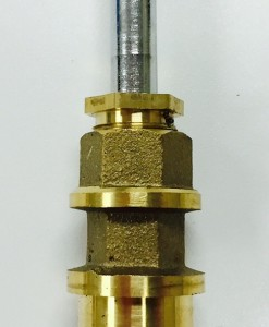 Crest/Good Gold-Pak for Price Pfister Diverter 910-052 Cat. No. PF30TDG
