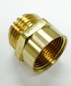3/4 Male Hose X 3/4 FIP Brass Adapter Cat. No. 765B003