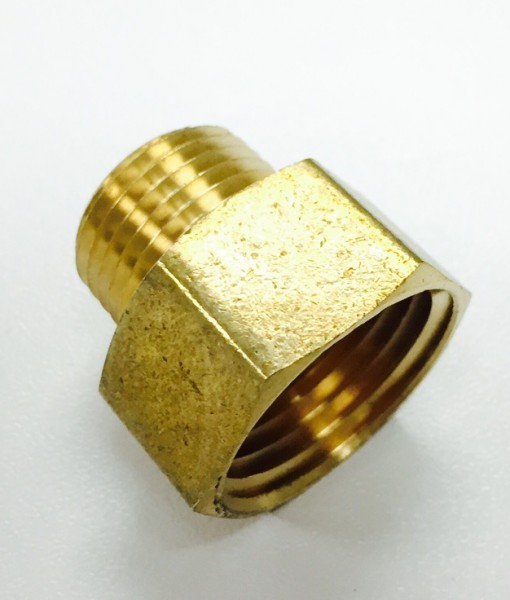 3/4 Male Hose X 3/4 FIP Brass Adapter Cat. No. 765B004