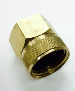 3/4 Female Hose X 3/4 FIP Brass Hose Fitting Cat. No. 765B010
