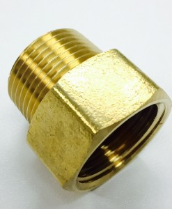 3/4 Female Hose X 3/4 MIP Brass Adapter Cat. No. 765B005
