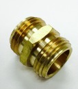 3/4 Male Hose X 3/4 Male Hose Brass Adapter Cat. No. 765B006