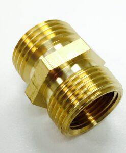 3/4 Male Hose X 3/4 Male IPS Brass Adapter Cat. No. 765B002
