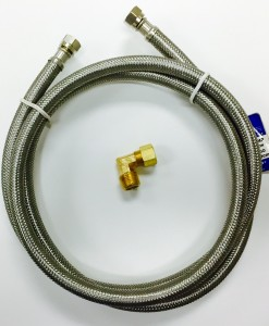 "48"" Stainless Steel Hose Dishwasher Connection Kit Cat. No. 335S148"